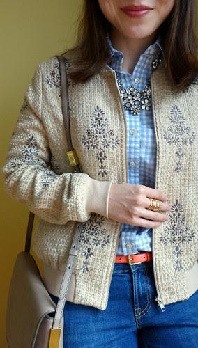 tweed bomber