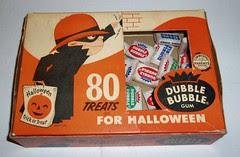 Halloween Dubble Bubble box