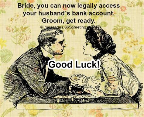 Funny Wedding Wishes and Quotes   365greetings.com