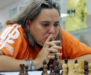 La Gran Maestra santiaguera Maritza Arribas Robaina