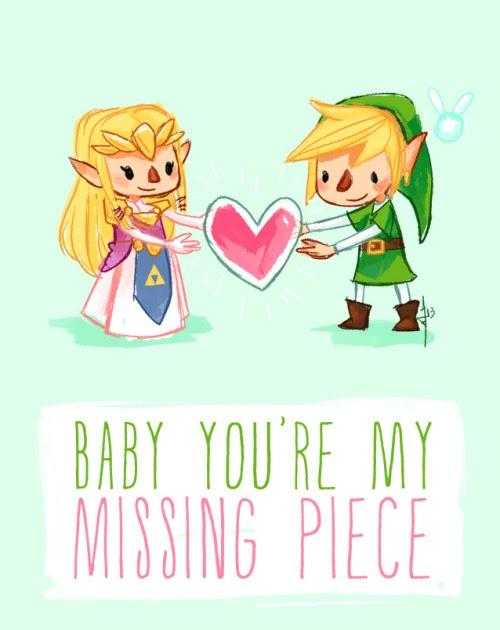Geek Art Gallery: Cards: Legend of Zelda Valentine