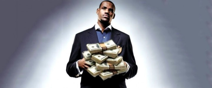 LeBron James salary in 2014: His new contract in Cleveland ...