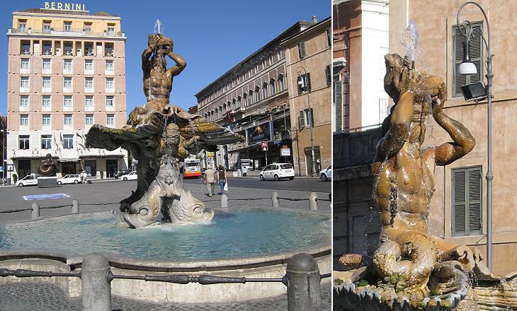 The Fontana del Tritone