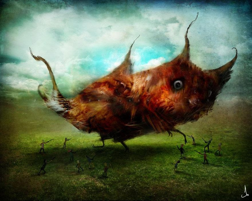 Alexander Jansson illustration fairytale12