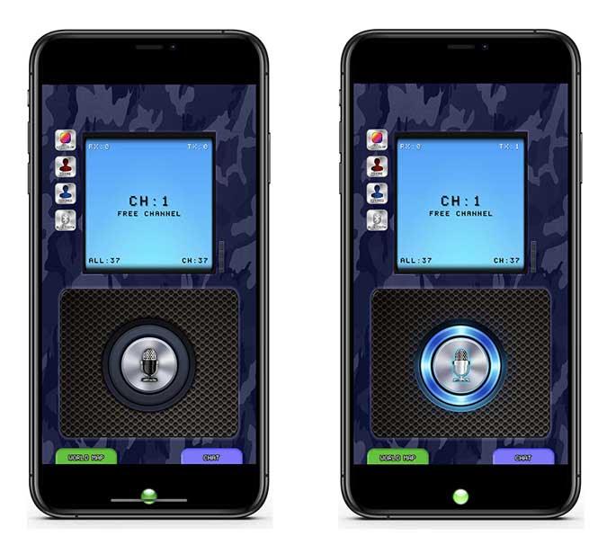 Walkie Talkie CB app screenshots