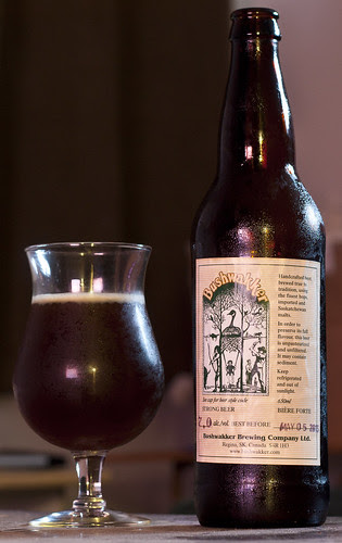 Review: Bushwakker's MacGregor's Wee Heavy Scotch Ale by Cody La Bière