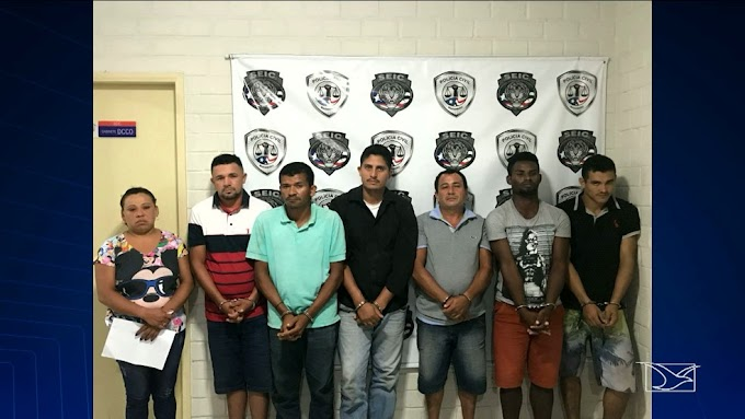 Polícia prende quadrilha de assaltantes de banco no Maranhão