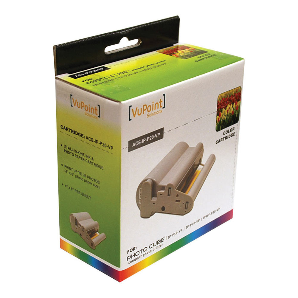 Upc 874121005035 Vupoint Solutions Photo Cube Color Paper Refill