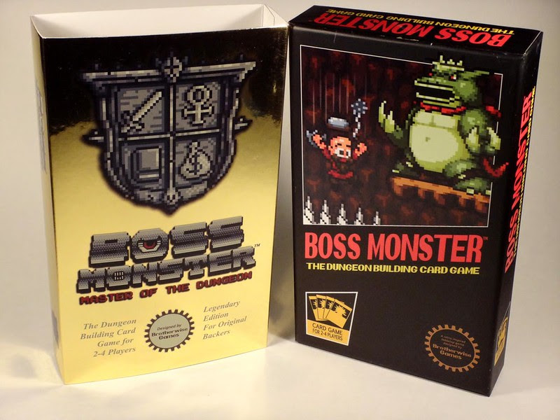 Brotherwise Games Boss Monster card game