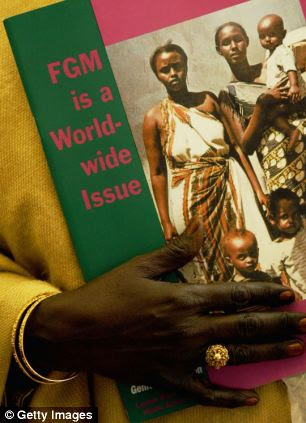 Banned: Female genital mutilation was criminalised 28 years ago but there has never been a UK trial