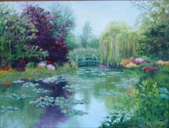 Monet's Water Lilly Pond