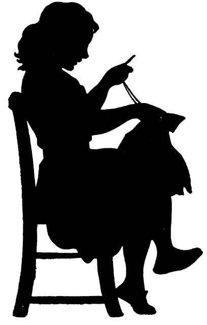 **FREE ViNTaGE DiGiTaL STaMPS**: Vintage Digital Stamp - Sewing Silhouette
