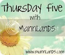 Thursday Five