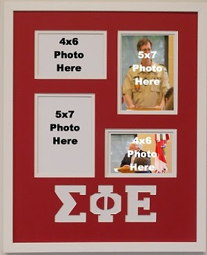 Sigma Phi Epsilon Fraternity 16x20 Collage Photo Mat And Wall Mount