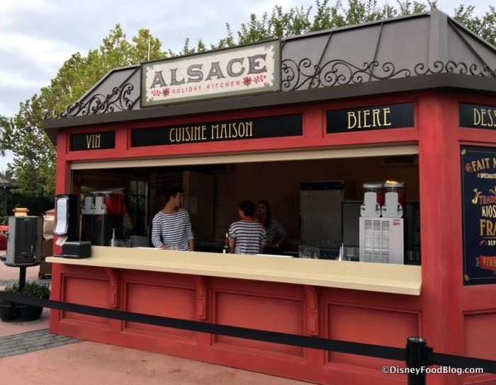 Alsace Holiday Kitchen in Epcot's France Pavilion