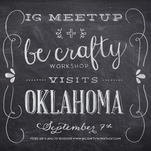 IG meetup + be crafty comes to Oklahoma