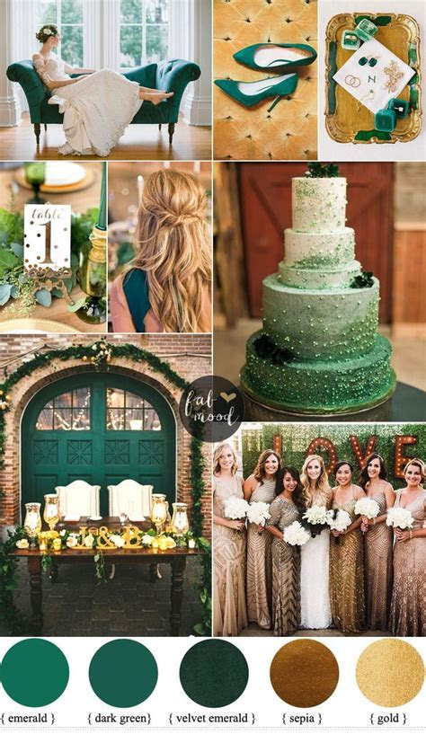 Best 25  Emerald wedding theme ideas on Pinterest