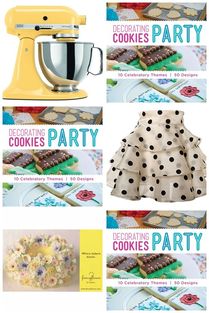 Decorating Cookies Party book celebration and giveaway!