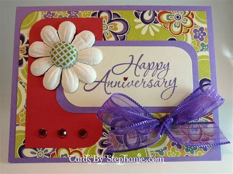 A Purple and Red Anniversary ? Cards By Stephanie