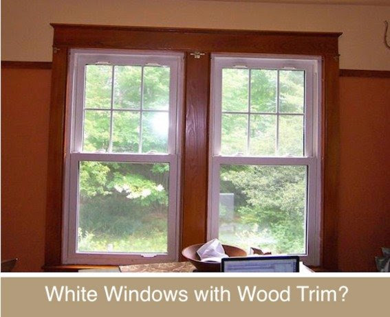 Decor Disputes: White Windows with Wood Trim, Yes or No ...