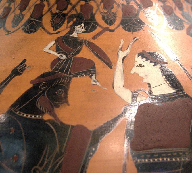 Immanuel Velikovsky, los mundos en colisión y los siglos caóticos: Atenea (no Afrodita) naciendo de la cabeza de Zeus