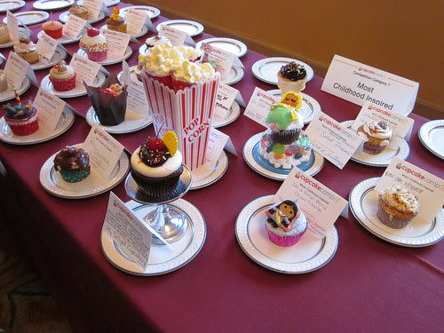 Cupcake Camp OC - Entries for the Cupcake Competition