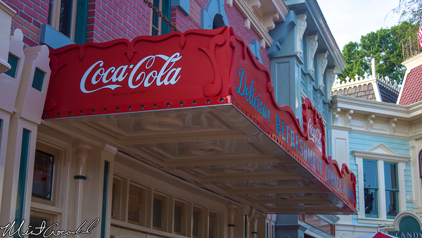 Disneyland Resort, Disneyland, Main Street U.S.A., Refreshment Corner, Coke Corner