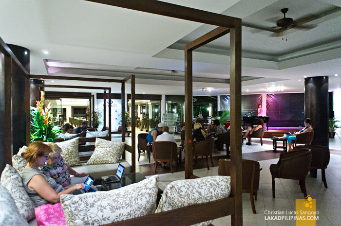 Free Wi-Fi at Phuket's Duangjitt Resort Lobby