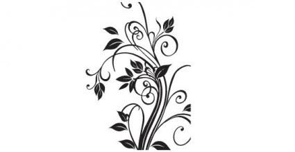 Floral Design Vector Free Download