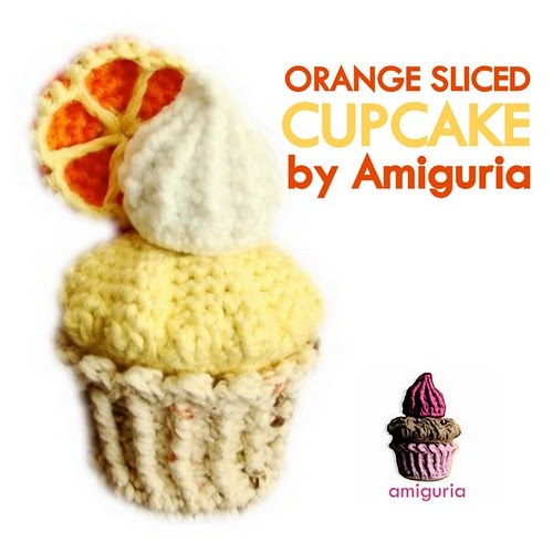 amiguria amigurumi: Orange Sliced Cupcake Amigurumi by ...