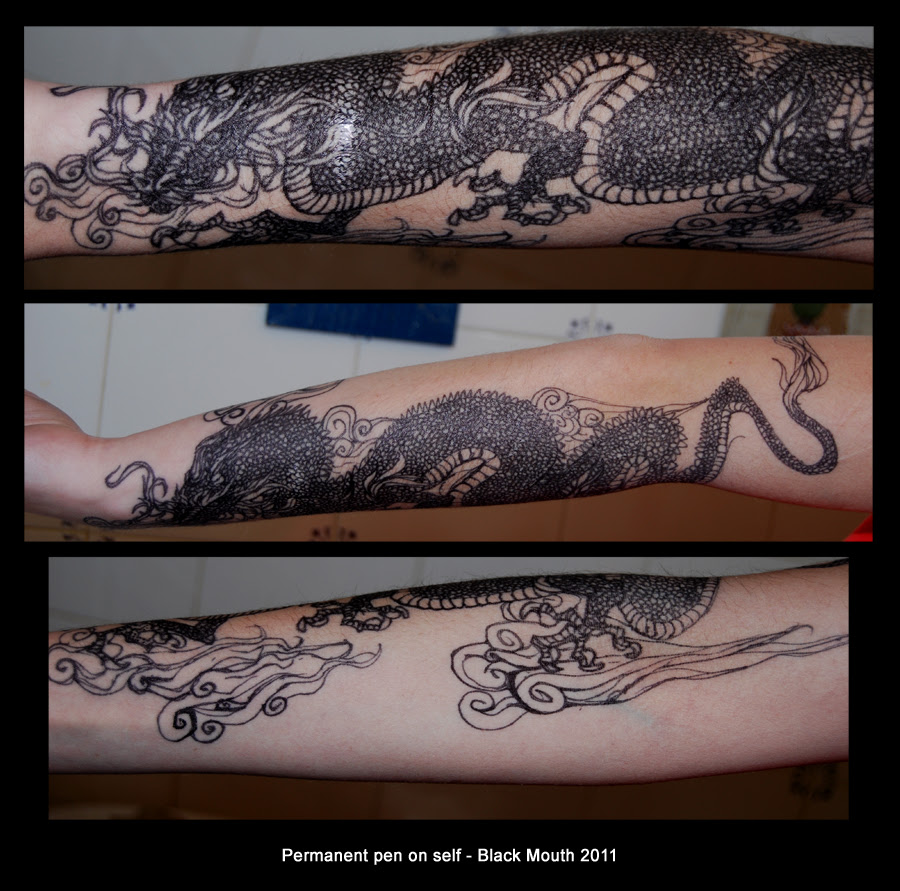 Sharpie Tattoo by black-mouth on DeviantArt