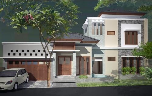 Desain Rumah Mewah 2 Lantai Dengan Kolam Renang Rumahminimalis Com