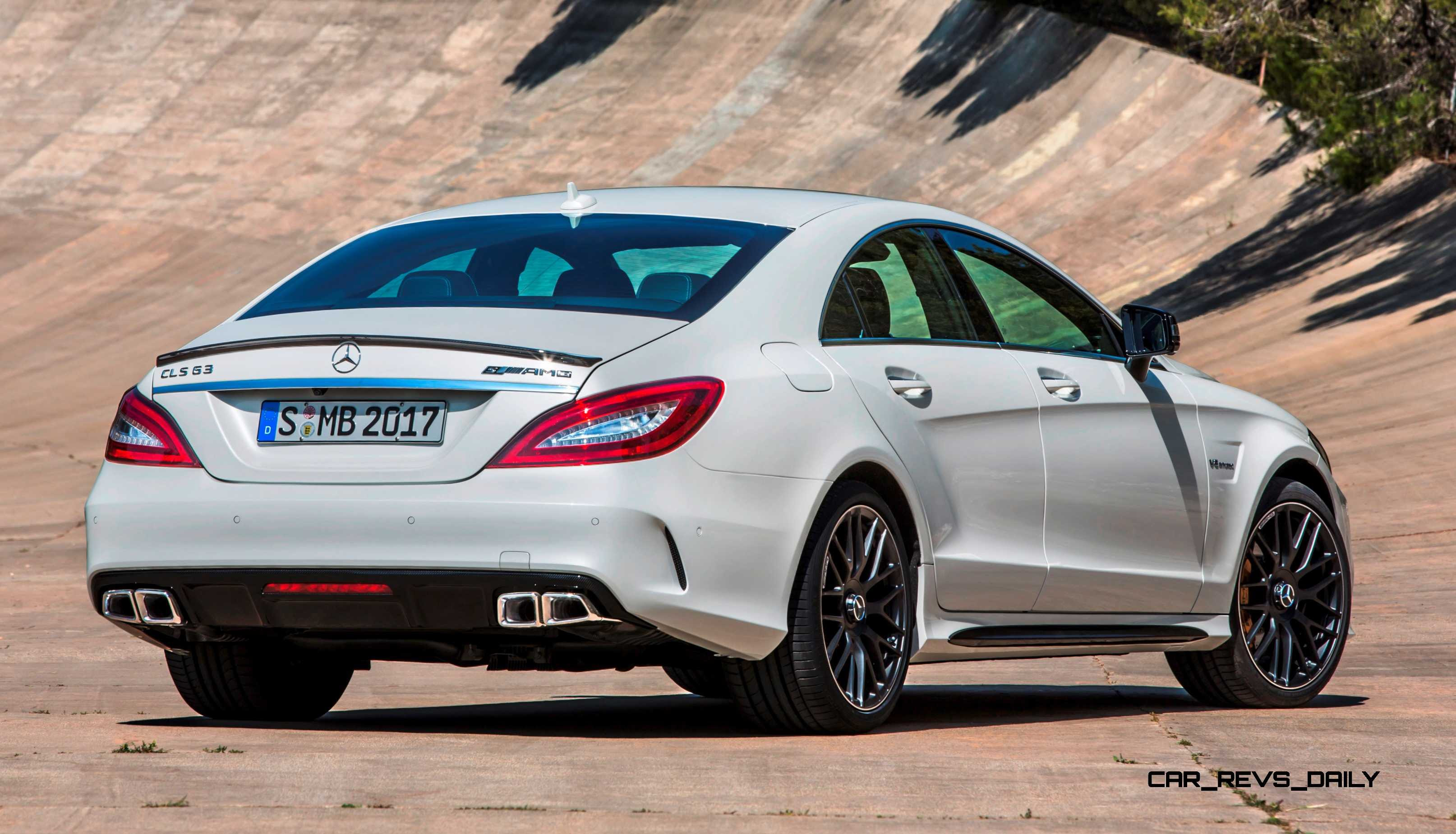 2015 Mercedes-Benz CLS550 and CLS63 AMG