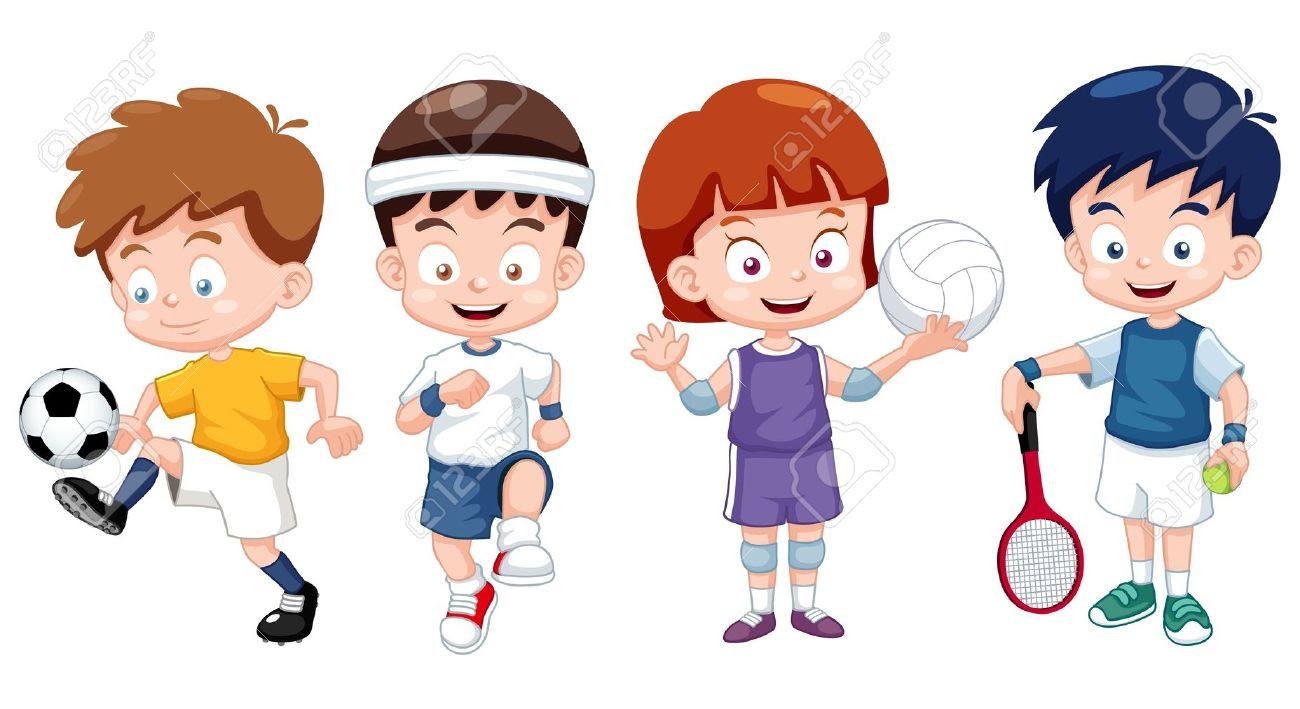 Gambar Kartun Muslimah Olahraga | Kantor Meme
