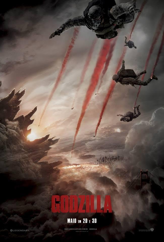 Resultado de imagem para Godzilla [2014]
