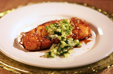 Sea Bass and Cucumber Salsa Recipe