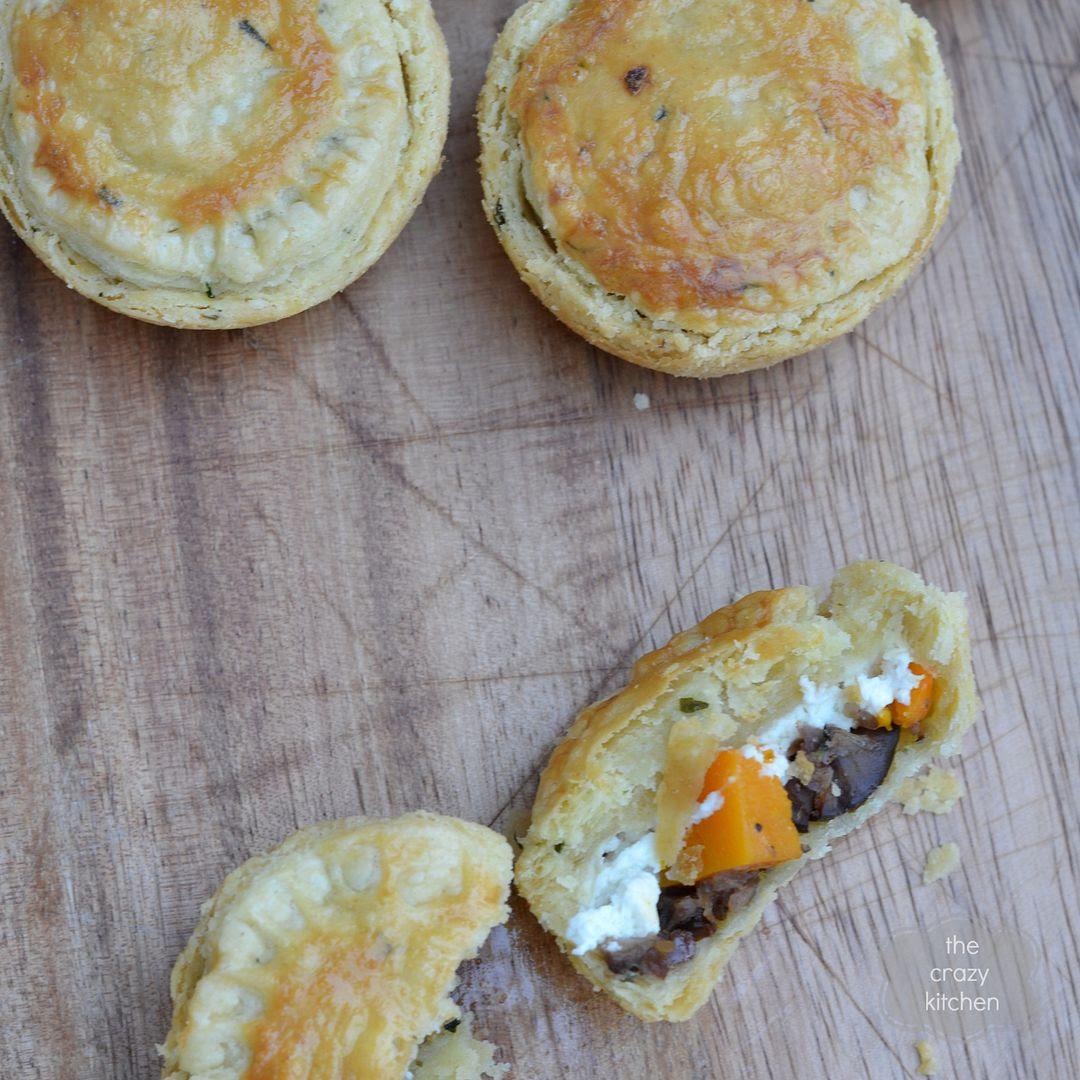 Pumpkin & Chestnut Picnic Pies