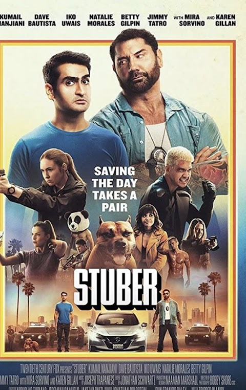 Stuber (2019) 480p 720p 1080p BluRay Dual Audio (Hindi+English) Full Movie