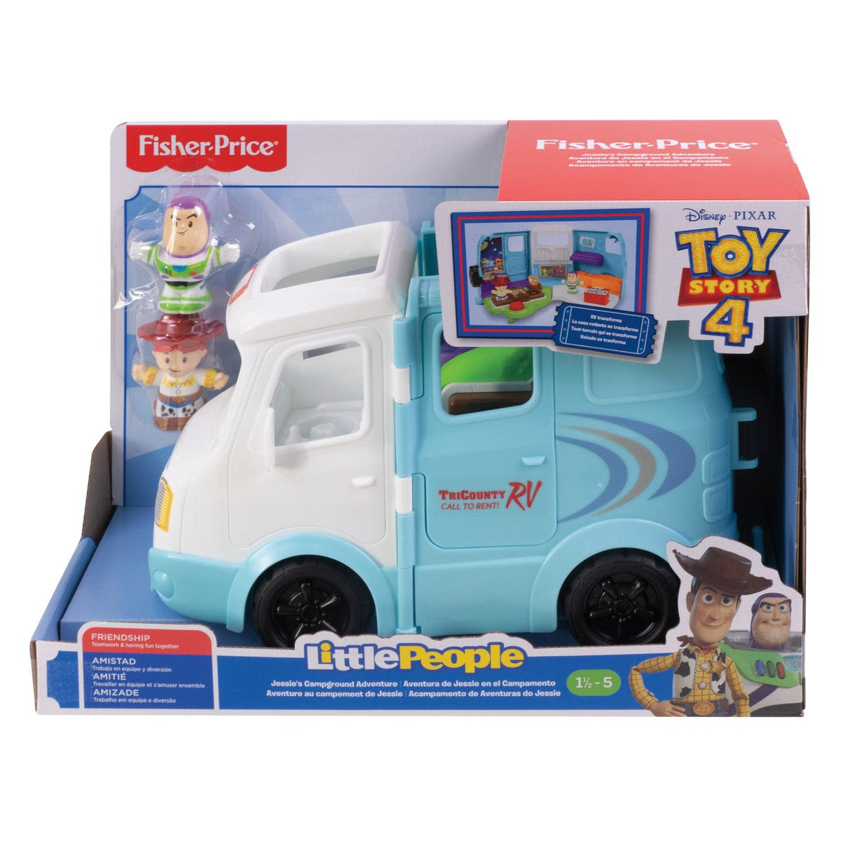 Download Fisher-Price Little People Toy Story 4 Rv | Toyworld Australia