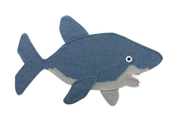 Shark Afghan Free Download (kit is also available)