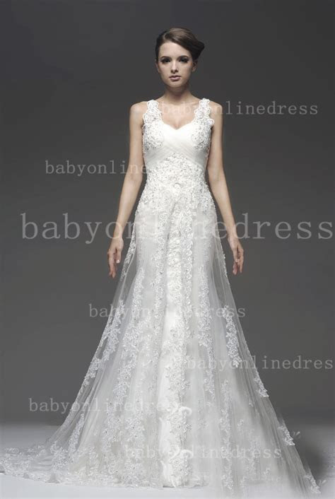 Very Cheap Tulle Lace Wedding Dresses for Sale 2014 Straps