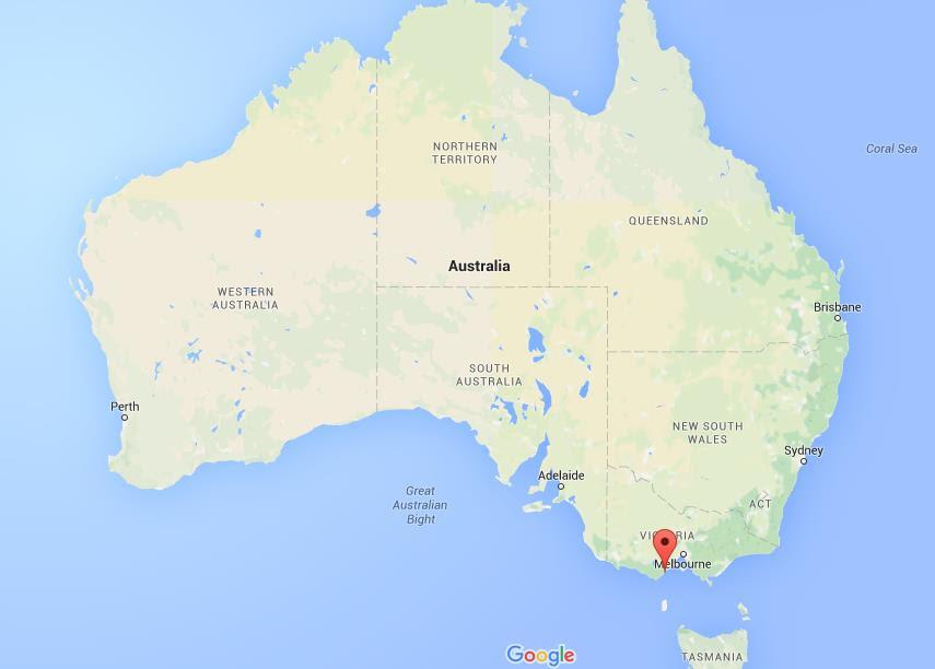 Where Is Lorne On Map Australia