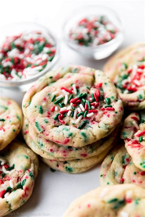 drop style christmas sugar cookies sallys baking addiction