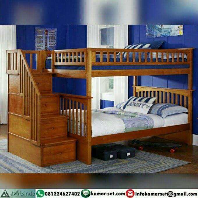 Gambar Desain Tempat Tidur Tingkat Minimalis