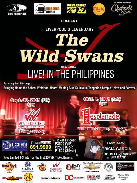 1 Poster- The Wild Swans Live in the Philippines