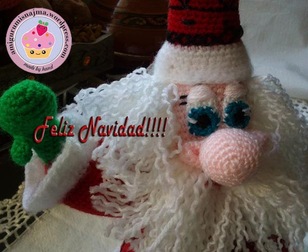 santa claus crochet doll ganchillo najma-14