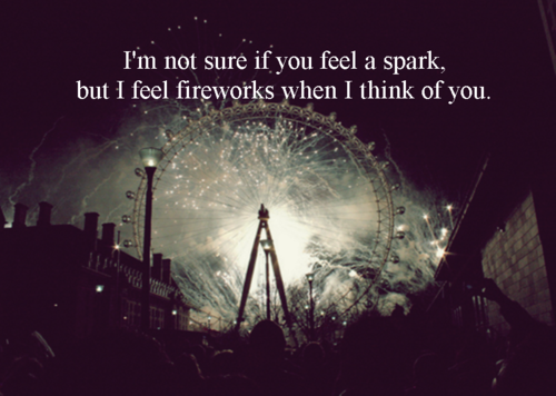 I Feel Fireworks When I Think Of You Pictures Photos And Images