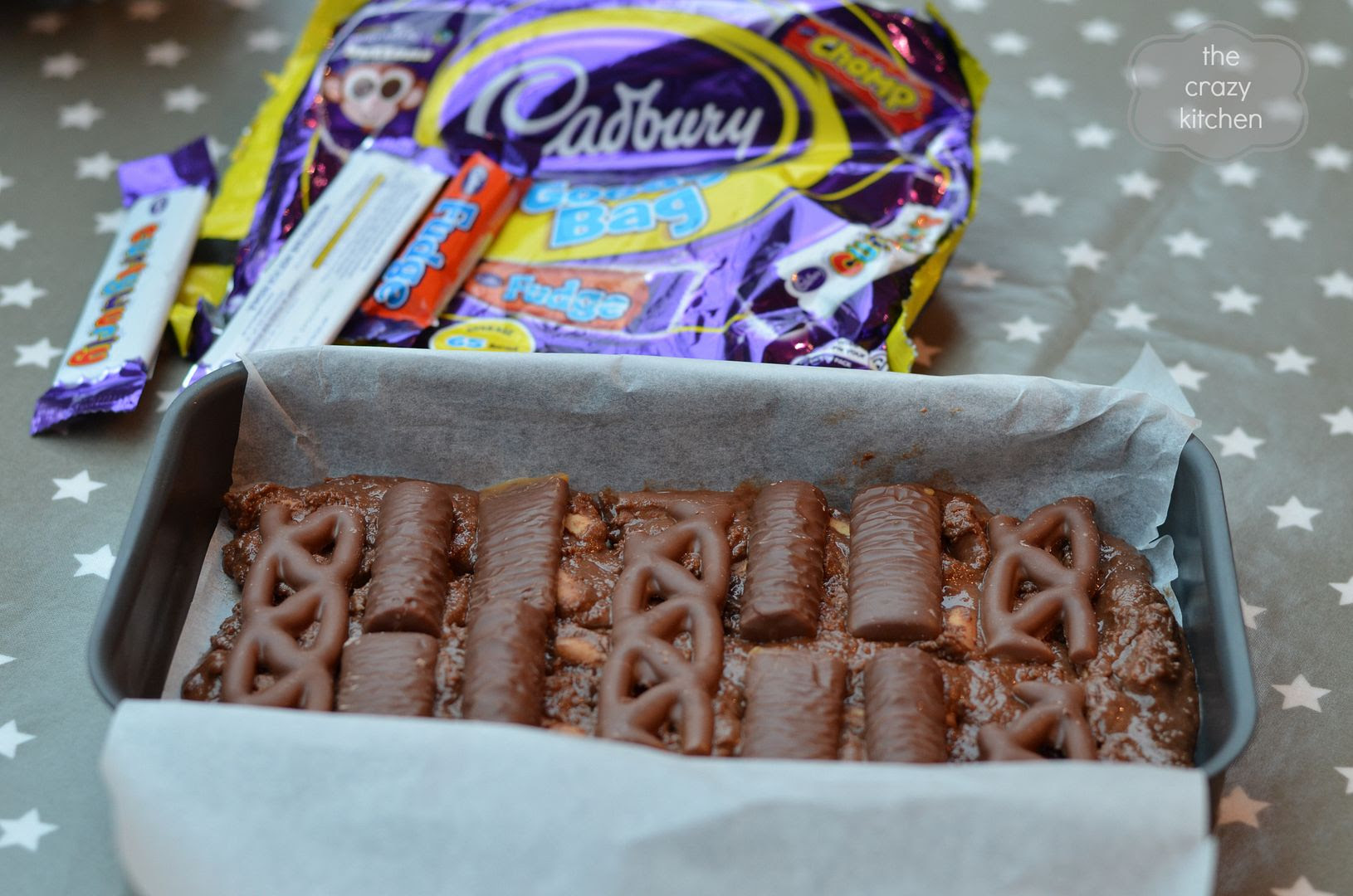 Fridge Cake with Cadbury Treatsize