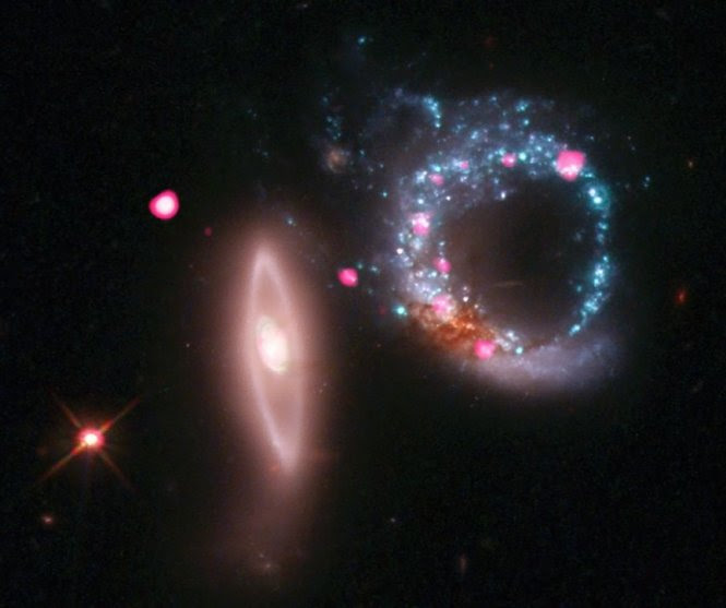 Arp 147, a pair of interacting galaxies