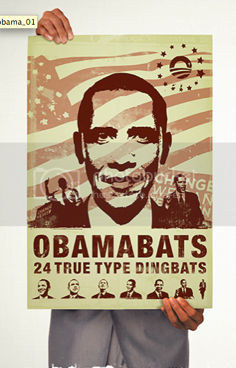 Obamabats Poster